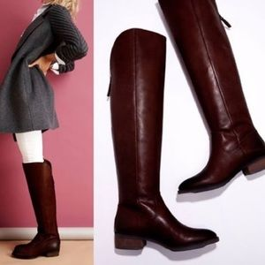 Sole Society 'ANDIE' Over The Knee Leather Boots 9